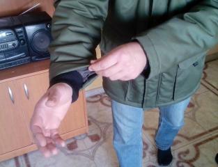 Куртка для солдата (рукав)
