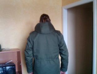 Куртка для солдата (тил)